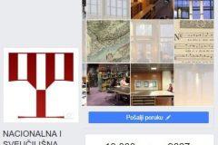 U travnju 2018. godine, osam godina nakon pridruživanja društvenoj mreži Facebooku, Nacionalna i sveučilišna knjižnica u Zagrebu na svojoj stranici ima 10 000 lajkova.