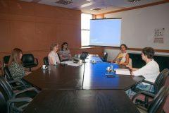 Sastanak s direktoricom Međunarodnog ureda za ISSN, dr. sc. Gaëlle Béquet.