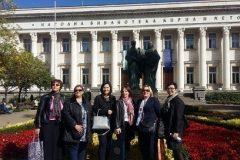 """Sudionice obilježavanja 130. obljetnice Sveučilišne knjižnice """"Sv. Kliment Ohridski""""."""