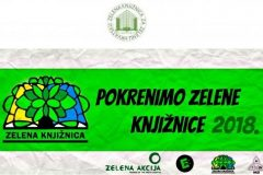 """NSK se pridružio akciji """"Pokrenimo zelene knjižnice""""."""