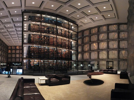 Sveučilišna knjižnica u Yaleu, Connecticut Izvor: http://www.businessinsider.com/most-beautiful-library-in-all-50-states-2016-7?op=1