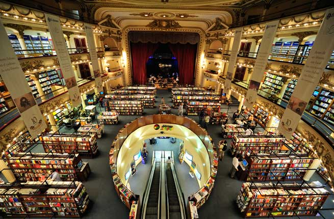 Buenos Aires. Izvor: http://www.fodors.com/news/photos/worlds-20-most-stunning-bookstores
