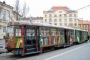 Tramvaj renoviran u pokretnu knjižnicu u Brnu u Češkoj.