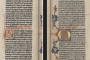 Gutenbergova Biblija, 2. svezak (1454.-1455., Mainz, Njemačka). Vatikanska knjižnica. Izvor: http://digi.vatlib.it/.