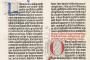 Gutenbergova Biblija, 2. svezak (1454.-1455., Mainz, Njemačka). Knjižnice Sveučilišta u Oxfordu. Izvor: http://digital.bodleian.ox.ac.uk/.