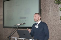 Tomislav Ivanjko (Faculty of Humanities and Social Sciences, University of Zagreb) at the Ninth Festival of Croatian Digitisation Projects. National and University Library in Zagreb, 9 & 10 May 2019.