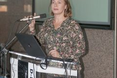 Ivana Hebrang Grgić (Faculty of Humanities and Social Sciences, University of Zagreb) at the Ninth Festival of Croatian Digitisation Projects. National and University Library in Zagreb, 9 & 10 May 2019.