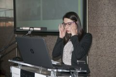 Sanja Budić Leto (Trilj Local History Museum) at the Ninth Festival of Croatian Digitisation Projects. National and University Library in Zagreb, 9 & 10 May 2019.