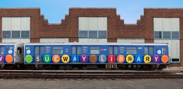 """Library train"". Izvor fotografije: New York Library."