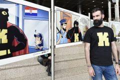 Autor ilustracija o Knjigomirovu dolasku, crtač stripova: Josip Sršen. Autorica fotografije: Nina Đurđević.