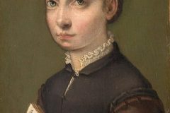 Autoportret. Autorica Sofonisba Anguissola. Izvor Muzej povijesti umjetnosti u Beču. Trajni URL: https://www.europeana.eu/portal/en/exhibitions/pioneers/credits.