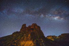 Mliječna staza iznad visočja Bentayga, Španjolska. Autor i © Nacho Gonzalez. Trajni URL: whc.unesco.org/en/documents/166170.