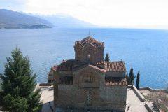 Spomenik prirodne i kulturne baštine zaštićenog područja Ohridskoga jezera, Sjeverna Makedonija. Autor i © Graciela Gonzalez Brigas. Trajni URL: whc.unesco.org/en/documents/108890.