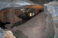 Pejzaž nalazišta rude 2-DE Altenberg-Zinnwald Miningl, s pogledom na jamu Reichtroster okna Tiefen-Bünau-Stolln. Autor i © J. Kugler. Trajni URL: whc.unesco.org/en/documents/166861.