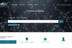 Treće izdanje mrežnih stranica Hrvatskoga arhiva weba, objavljenih 20. veljače 2020. godine.