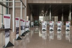 "NSK hosting ""Latvia's Century"", an exhibition marking the centenary of the restoration of Latvia's sovereignty."