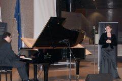 """Pianist Oliver Vrbančić and mezzo-soprano Ljiljana Šišeta-Vrbančić of """"Gospel Duo"""" performed the 2018 """"Hearts Together Make Music for Children"""" NSK benefit concert."""