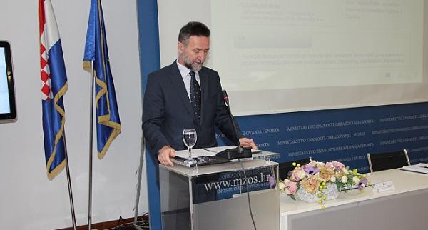 Prof. dr. sc. Pavo Barišić, ministar znanosti i obrazovanja.