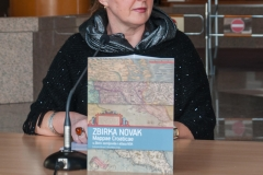 "Head of the NSK Map Collection Mira Miletić Drder and one of the authors of ""Zbirka Novak – Mappae Croaticae"", the Library's monograph on one of Croatia's most valuable cartographic collections preserved as part of the NSK Map Collection."
