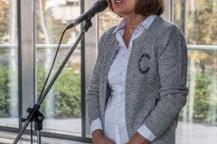 Rukovoditeljica Odjela Zaštita i pohrana NSK dr. sc. Dragica Krstić na obilježavanju Europskoga dana konzervacije-restauracije.