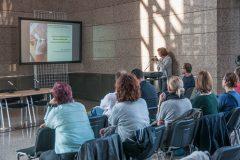 """Dr. sc. Dragica Krstić održala je predavanje pod nazivom """"Izazovi održivosti u konzervatorsko-restauratorskoj praksi""""."""