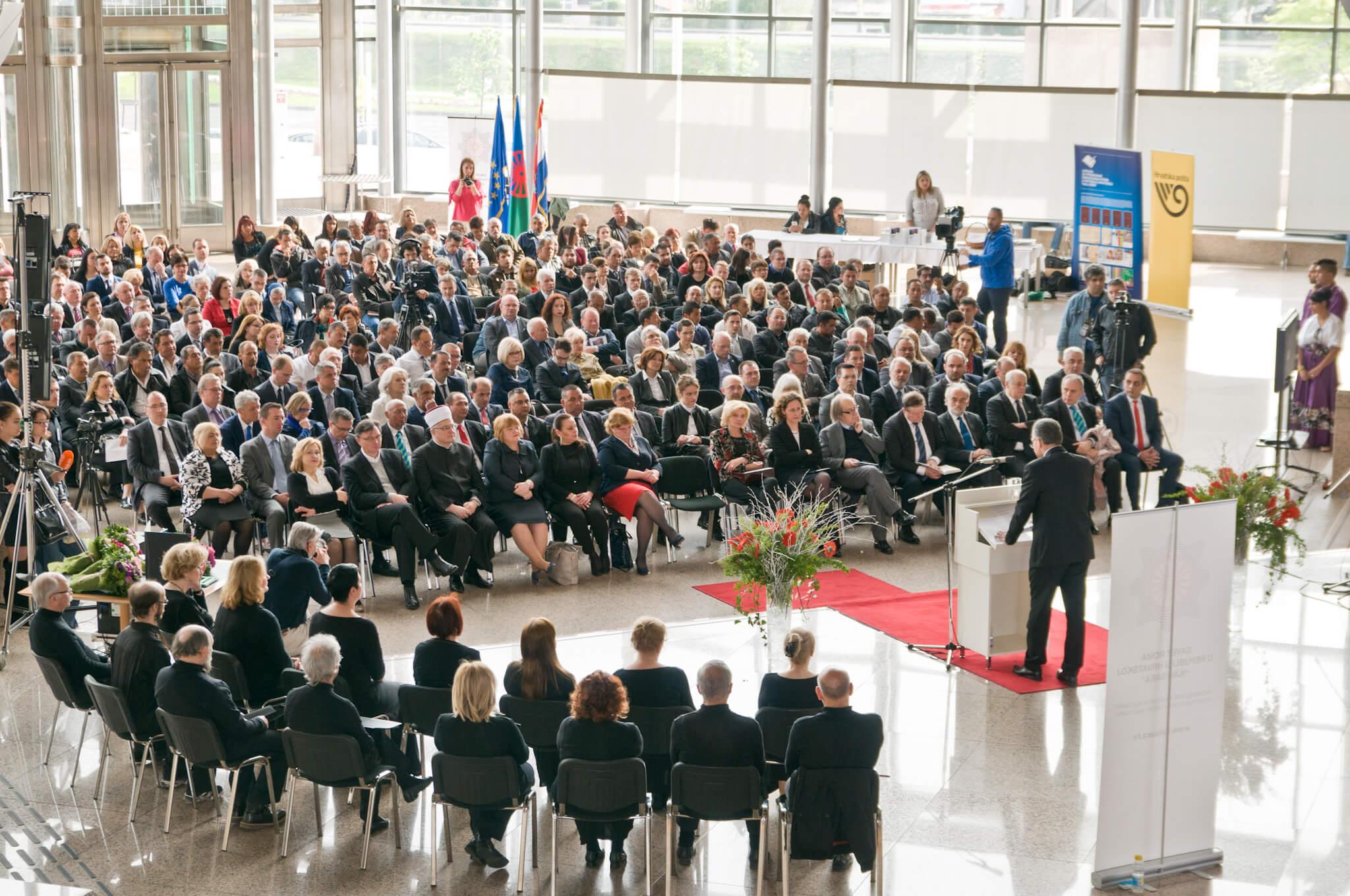 U Nacionalnoj i sveučilišnoj knjižnici u Zagrebu obilježen Svjetski dan Roma.