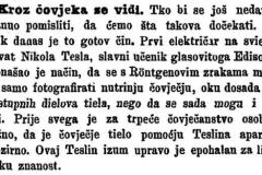 """""""Dom i sviet"""", 15. lipnja 1896. Portal Stare hrvatske novine, Nacionalna i sveučilišna knjižnica u Zagrebu."""