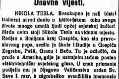 """""""Virovitičan"""", 18. srpnja 1926. Portal Stare hrvatske novine, Nacionalna i sveučilišna knjižnica u Zagrebu."""
