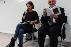 Marija Zdrilić i Rajko Bundalo interpretiraju stihove Ivanke Zdrilić. Fotografija:  Nikola Piasevoli.