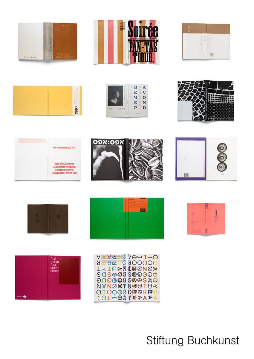 """Najljepše oblikovane knjige svijeta objavljene u 2017. godini, nagrađene u sklopu natječaja """"Best Book Design from all over the World""""."""