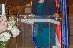 Glavna ravnateljica Nacionalne i sveučilišne knjižnice u Zagrebu dr. sc. Tatijana Petrić.