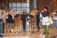 """Studenti Muzičke akademije Kvartet flauta """"Monochromia""""."""