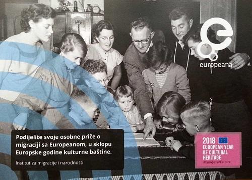 Održan Dan prikupljanja podataka o migracijama u sklopu Europske godine kulturne baštine u Institutu za migracije i narodnosti u Zagrebu.