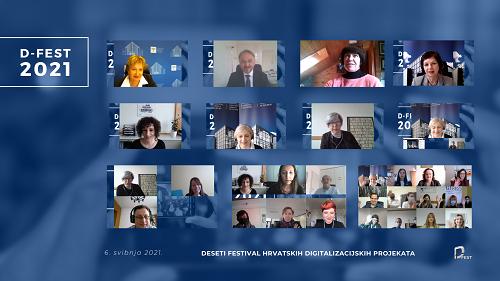 D-fest u online okruženju, 6. svibnja 2021.
