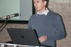 Kristijan Crnković (ArhivPRO d.o.o.) na Devetom festivalu hrvatskih digitalizacijskih projekata u Nacionalnoj i sveučilišnoj knjižnici u Zagrebu.