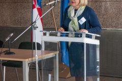 Glavna ravnateljica NSK dr. sc. Tatijana Petrić na održanome Skupu.