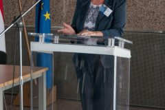 Ravnateljica Gradske knjižnice i čitaonice Pula Nela Načinović na održanome Skupu.