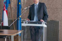 Predstavnik Ministarstva vanjskih i europskih poslova Gordan Markotić na održanome  Skupu.