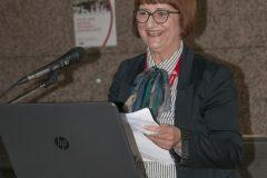 Knjižničarska savjetnica za visokoškolske i specijalne knjižnice na razini središnje matične knjižnice dr. sc. Zagorka Majstorović.