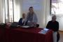 """Doc. dr. sc. Gordan Matas, dr. sc. Tatijana Petrić i Nenad Cambj na otvorenju skupa """"Knjiga i društvo: socijalna, filološka i intelektualna povijest i sadašnjost knjige""""."""