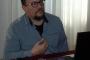 """Izlaganje Ivana Kapeca, djelatnika NSK na skupu """"Knjiga i društvo: socijalna, filološka i intelektualna povijest i sadašnjost knjige""""."""