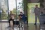 Nenad Kovačić, perkusionist i Ivan Kapec na električnoj gitari te Moderator Zelenog festivala i novinar HRT-a Mladen Iličković na otvorenju Zelenoga festivala – (O)krenimo na zeleno.
