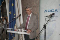 Predsjednik Hrvatske zajednice tehničke kulture prof. dr. sc. Ante Markotić na svečanome otvorenju 17. međunarodne izložbe inovacija ARCA 2019.