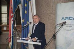 Ministar gospodarstva, poduzetništva i obrta Darko Horvat na svečanome otvorenju 17. međunarodne izložbe inovacija ARCA 2019.
