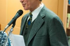 Književnik Mile Pešorda na tribini Zbirke inozemne Croatice.