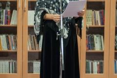 Voditeljica tribine Zbirke inozemne Croatice dr. sc. Željka Lovrenčić.