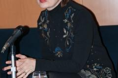 Književnica Lana Derkač na tribini Zbirke inozemne Croatice.