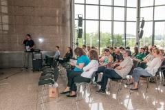 """Znanstveno-stručni skup održan u sklopu izložbe """"Skriveni svijet starih knjiga""""."""