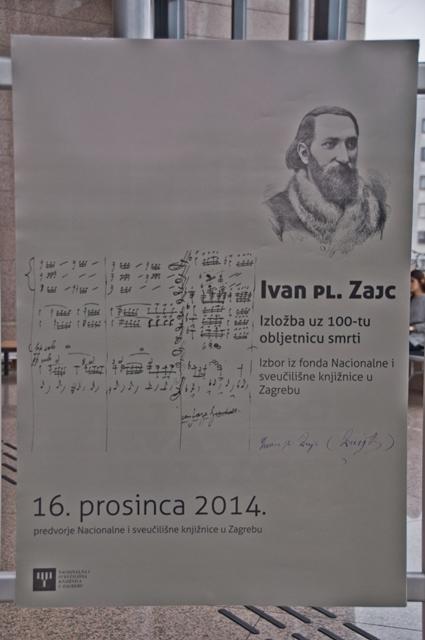 Održana izložba u povodu 100. obljetnice smrti Ivana pl. Zajca
