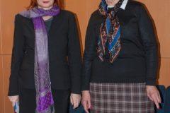 Voditeljca tribine dr. sc. Željka Lovrenčić i mr. sc. Anica Markov.